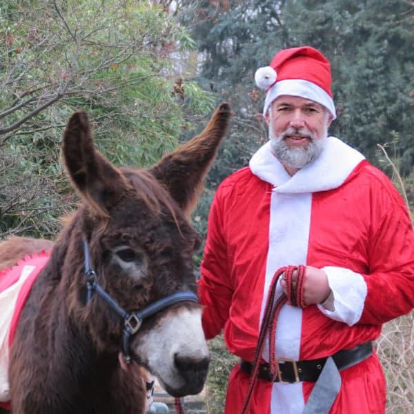 Nikolaus im Zoo Event Bild