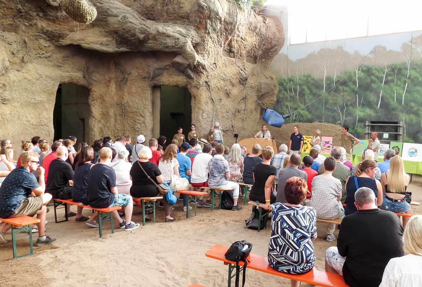 Welt-Elefantentag 2018 (Foto: Zoo Heidelberg)