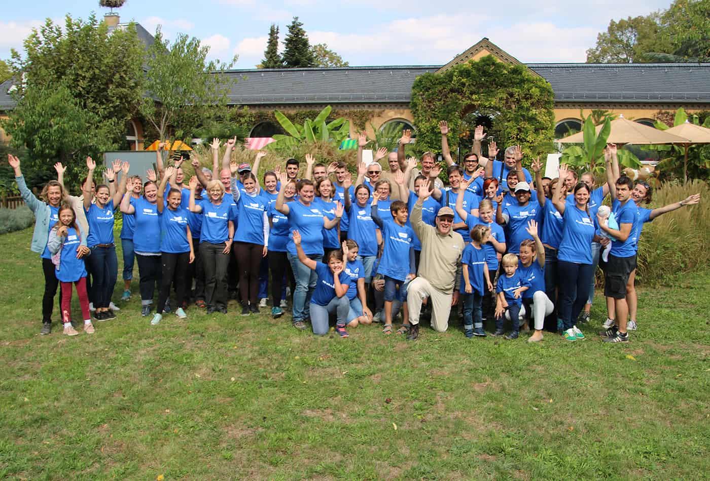 Freiwilligentag 2018 (Foto: Zoo Heidelberg)