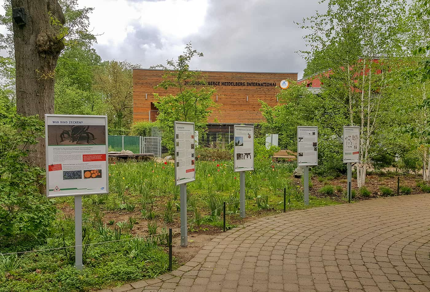 Wanderausstellung Zecken (Foto:Zoo Heidelberg)