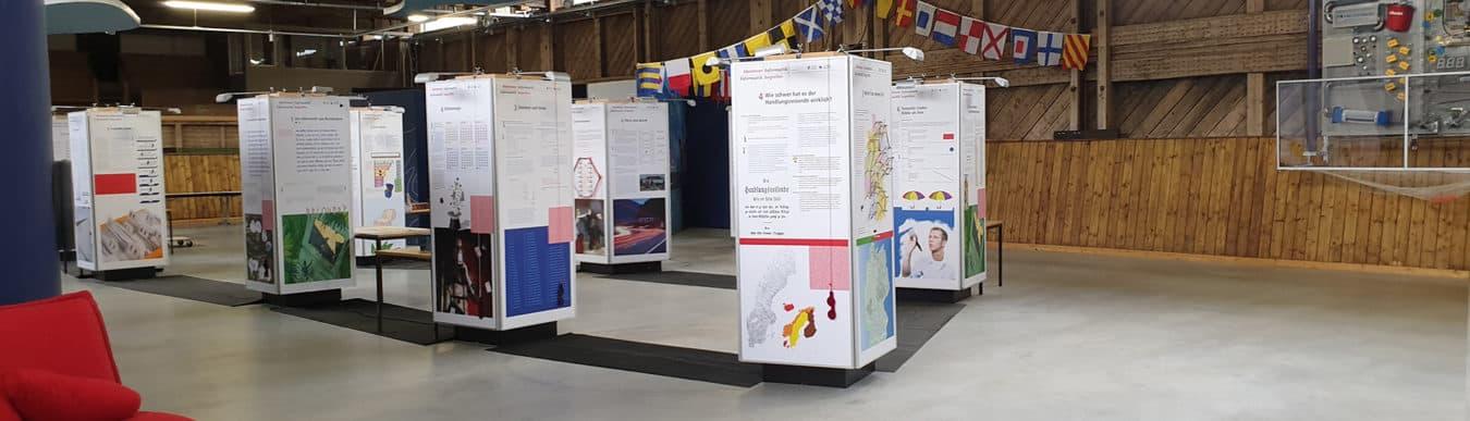 Ausstellung Abenteuer Informatik in der Explo Halle (Foto: Explo)