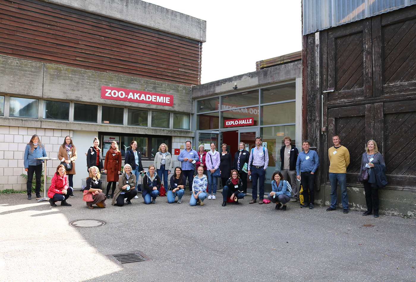 Foto 1 & 2: Treffen des Netzwerks Bildung für Nachhaltige Entwicklung in Heidelberg. (Foto: Zoo Heidelberg)